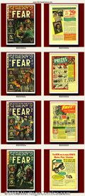 Golden Age (1938-1955):Science Fiction, The Haunt of Fear Group Lot (EC, 1951-1954). Lot includes: #9, #11,#19, #23, and #27. A great horror run for the EC collect... (Total:5 Item)