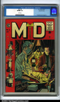 Golden Age (1938-1955):Miscellaneous, M.D. #3 Gaines File pedigree 9/12 (EC, 1955). This dramatic Johnny Craig cover depicts a country doctor preparing for emerge...