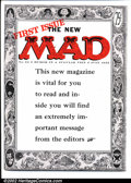 Golden Age (1938-1955):Humor, Mad #24 Gaines File pedigree (EC, 1955). The first magazine-format Mad issue, and a simply unimprovable copy. Art by Wal...