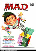 Silver Age (1956-1969):Humor, Mad #33 Gaines File pedigree (EC, 1957). Great Mingo cover. Art by Wood, Martin and Drucker. A photo-certificate attesting t...
