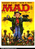 Silver Age (1956-1969):Humor, Mad #43 Gaines File pedigree (EC, 1958). Danny Kaye contributes. Art by Wood, Freas and Orlando. A photo-certificate attesti...