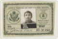 Explorers:Space Exploration, Astronaut Jim Irwin's Armed Forces ID Badge, Signed. ...