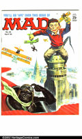 Silver Age (1956-1969):Humor, Mad #94 Gaines File pedigree (EC, 1965). King Kong parody cover by Mingo. A photo-certificate attesting to the Gaines File p...