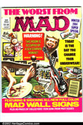 Modern Age (1980-Present):Humor, Mad Special #49 Gaines File pedigree (EC, 1984). Mad wall signsbonus insert. A photo-certificate attesting to the Gaines F...