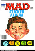 Modern Age (1980-Present):Humor, Mad Sticker Album Gaines File pedigree (EC, 1983). Obscure item,not found in Overstreet. A photo-certificate attesting to ...