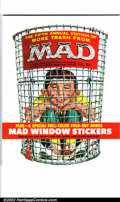 Silver Age (1956-1969):Humor, More Trash from Mad #5 Gaines File pedigree (EC, 1962). Mad window sticker bonus insert. A photo-certificate attesting t...