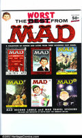 Silver Age (1956-1969):Humor, Worst From Mad #1 Gaines File pedigree (EC, 1958). Scarce first Mad annual. Bonus record label and stickers. A photo-cer...