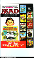 Silver Age (1956-1969):Humor, Worst From Mad #4 Gaines File pedigree (EC, 1961). Sunday comics section parody. A photo-certificate attesting to the Gaines...