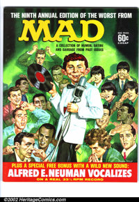 Worst From Mad #9 Gaines File pedigree (EC, 1966). This issue contains one of the greatest Mad premiums of all time. &qu...