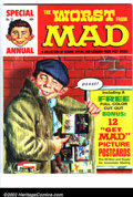 Silver Age (1956-1969):Humor, Worst From Mad #12 Gaines File pedigree (EC, 1969). Mad postcards bonus insert. A photo-certificate attesting to the Gai...