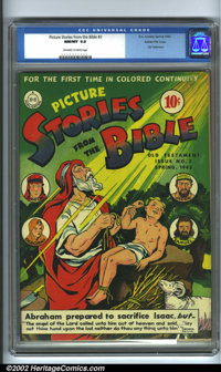 Picture Stories from the Bible #3 Old Testament Edition Gaines File pedigree (EC, 1943). An outstanding copy of this har...