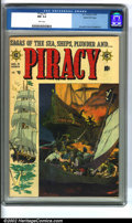 """Golden Age (1938-1955):Adventure, Piracy #3 Gaines File pedigree 12/12 (EC, 1955). One of the last of EC's """"New Trend"""" titles, Piracy has gained a small b..."""