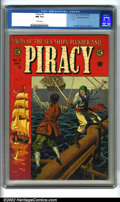 """Golden Age (1938-1955):Adventure, Piracy #4 Gaines File pedigree 12/12 (EC, 1955). Tales of swashbuckling and derring-do abound in this classic """"New Trend"""" ti..."""