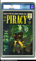 "Golden Age (1938-1955):Adventure, Piracy #7 Gaines File pedigree 12/12 (EC, 1955). Regaling readers with ""Sagas of the Sea, Ships, Plunder and Piracy"", this w..."
