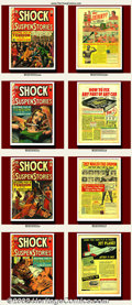 "Golden Age (1938-1955):Science Fiction, Shock SuspenStories Group Lot (EC, 1952-1954). A ""Shocking"" groupof Shock SuspenStories. Great covers and artists make ... (Total: 8Item)"