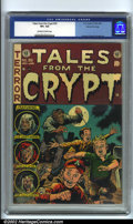 Golden Age (1938-1955):Horror, Tales From the Crypt #39 Gaines File pedigree (EC, 1953). JackDavis' cover for this issue reminds us why kids are afraid to...