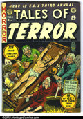 Golden Age (1938-1955):Horror, Tales of Terror Annual #3 (EC, 1953). It's all here, 128 pages offascinating horror and murder. This was the third annual p...