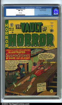 Vault of Horror #12 Gaines File pedigree 1/1 (EC, 1950). This comic book is truly one of the highlights of the sale; we...