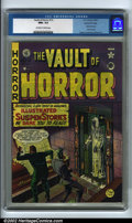 Golden Age (1938-1955):Horror, Vault of Horror #13 Gaines File pedigree (EC, 1950). EC kicked offits infamous horror trend with the twelfth issue of this ...