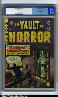 Vault of Horror #13 Gaines File pedigree (EC, 1950). EC kicked off its infamous horror trend with the twelfth issue of t...