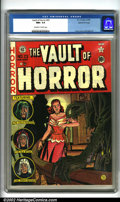 Golden Age (1938-1955):Horror, Vault of Horror #23 Gaines File pedigree 9/12 (EC, 1952). JohnnyCraig again lends his talents to the cover of this classic ...