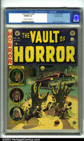 Golden Age (1938-1955):Horror, Vault of Horror #26 Gaines File pedigree 4/11 (EC, 1952). Cover artby Johnny Craig and interiors by Jack Davis, Craig and G...