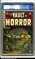 Golden Age (1938-1955):Horror, Vault of Horror #27 Gaines File pedigree 9/12 (EC, 1952). For manycollectors, EC produced the quintessential comic books....