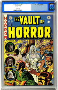 Vault of Horror #28 Gaines File pedigree 9/12 (EC, 1953). An unread/uncirculated copy from publisher William Gaines' per...