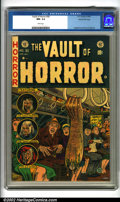 Golden Age (1938-1955):Horror, Vault of Horror #30 Gaines File pedigree 4/12 (EC, 1953). Featuringshocking cover art by Johnny Craig and fabulous interior...