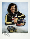 Autographs:Others, Richard Petty and Kyle Petty Signed Lithographs Lot of 3. We offer a lot of three signed lithographs. All three lithos are ...