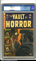 Golden Age (1938-1955):Horror, Vault of Horror #32 Gaines File pedigree 8/11 (EC, 1953). JohnnyCraig's cover art for this issue is one of the most famous/...