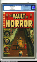 Golden Age (1938-1955):Horror, Vault of Horror #33 Gaines File pedigree 8/11 (EC, 1953). Anexquisite copy in virtually flawless condition with bright, viv...