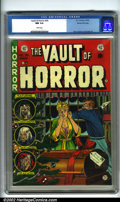 Golden Age (1938-1955):Horror, Vault of Horror #35 Gaines File pedigree 9/12 (EC, 1954). It isunimaginable that any 38-year-old comic could be as fresh as...