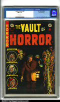 Golden Age (1938-1955):Horror, Vault of Horror #38 Gaines File pedigree 9/12 (EC, 1954).Collecting black covers is a distinct genre. It is a difficultta...