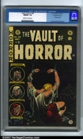 Golden Age (1938-1955):Horror, Vault of Horror #39 Gaines File pedigree (EC, 1954). The specter ofthe Comics Code Authority loomed just around the corner ...