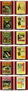 Golden Age (1938-1955):Science Fiction, Weird Fantasy Group Lot (EC, 1950-1954). Weird Fantasy groupincludes #14(2), #16(4), #7, #9, #10, #14, #16, #17, #19, #...(Total: 12 Item)