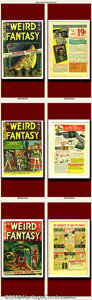 Golden Age (1938-1955):Science Fiction, Weird Fantasy Group Lot (EC, 1950-1953). Lot consists of issues#15(#3), #6, #8, #12, #13, and #18. Fantastic sci-fi run w...(Total: 6 Item)