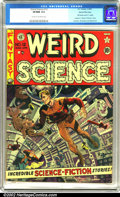 Golden Age (1938-1955):Science Fiction, Weird Science #12 Gaines File pedigree 9/11 (EC, 1952). With art byJack Kamen, Joe Orlando and Wally Wood (with a Wood cove...