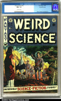 Golden Age (1938-1955):Science Fiction, Weird Science #14 Gaines File pedigree 9/12 (EC, 1952). From the secret files of William M. Gaines comes this rare gem. Spor...