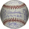 Autographs:Baseballs, Cy Young Award Winners Multi-Signed Baseball. A total of 23 pastwinners of the Cy Young Award, given each year to the leag...