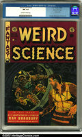 Golden Age (1938-1955):Science Fiction, Weird Science #19 Gaines File pedigree 7/10 (EC, 1953). A scarycover from the master of sci-fi, Wally Wood, and interior ar...