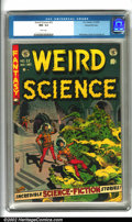 Golden Age (1938-1955):Horror, Weird Science #22 Gaines File pedigree 8/11 (EC, 1953). Anotherkiller cover by the master of sci-fi, Wally Wood, and interi...