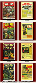 Golden Age (1938-1955):Science Fiction, Weird Science Group Lot (EC, 1950-1953). Lot includes: #14(#3),#13, #19, #20, and #22. This Weird Science lot features ... (Total:5 Item)