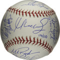 Autographs:Baseballs, 2004 Boston Red Sox World Champion Team Signed Baseball. The BostonRed Sox ended their 86-year championship drought in dra...