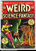 Golden Age (1938-1955):Science Fiction, Weird Science-Fantasy Annual #1 (EC, 1952). Wonderful collection ofEC SF stories, created from backstock re-bound with a ne...