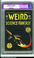 Golden Age (1938-1955):Science Fiction, Weird Science-Fantasy Annual #2 (EC, 1953). Every year, EC wouldtake all their unsold comics, design a new cover, have them...