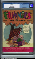 Golden Age (1938-1955):Humor, Funnies #2 (Dell, 1936). An early comic consisting of strip reprints, this issue introduces Sheldon Mayer's popular characte...