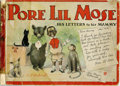 Platinum Age (1897-1937):Miscellaneous, Pore Li'l Mose - His Letters to His Mammy (Grand Union Tea Co.,1902). This is the earliest known Cupples and Leon comic boo...