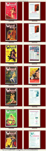 Pulps:Adventure, Weird Tales Lot (Various Publishers, 1930s). An extremely large and beautiful run of Weird Tales. Most issues have art b... (Total: 32 Item)