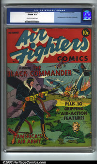Air Fighters Comics #1 (Hillman Fall, 1941). Scarce first issue of this important Hillman title features the first and o...